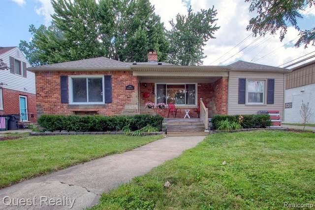 1760 Oakshire Ave, Berkley, MI 48072 (MLS #2210063110) :: Kelder Real Estate Group