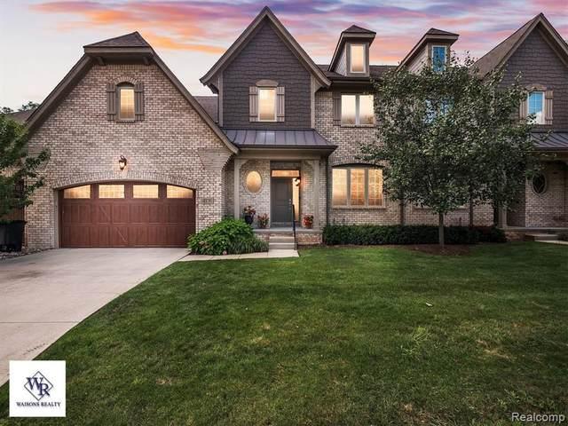4176 Oak Arbor Crt, Oakland Twp, MI 48306 (MLS #2210068717) :: The BRAND Real Estate