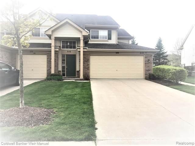 216 N Vista, Auburn Hills, MI 48326 (MLS #2210069408) :: The BRAND Real Estate