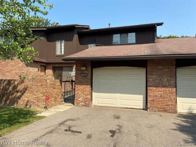 26270 Summerdale Dr Unit#78-Bldg#10, Southfield, MI 48033 (MLS #2210071074) :: The BRAND Real Estate