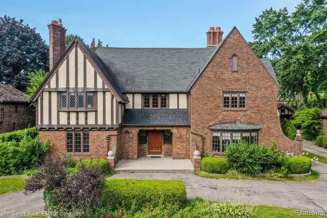 849 Balfour St, Grosse Pointe Park, MI 48230 (MLS #2210072787) :: The BRAND Real Estate