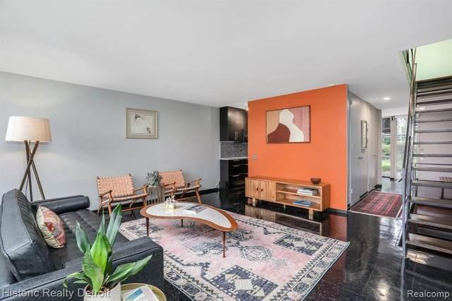 1415 Nicolet Plc, Detroit, MI 48207 (MLS #2210075259) :: The BRAND Real Estate