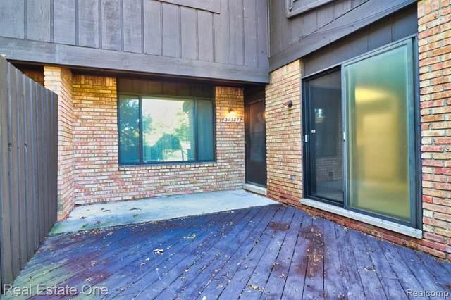 37387 Golfview Dr # 78, Sterling Heights, MI 48312 (MLS #2210081913) :: Kelder Real Estate Group