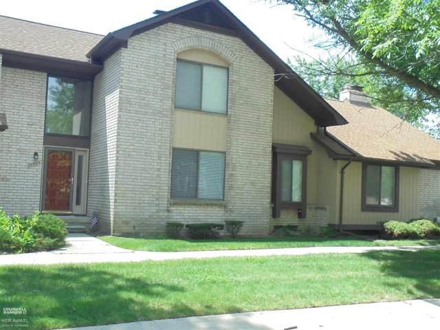 20544 Villa Grande Cir Unit 10 Bldg 3, Clinton Township, MI 48038 (MLS #50046727) :: The BRAND Real Estate