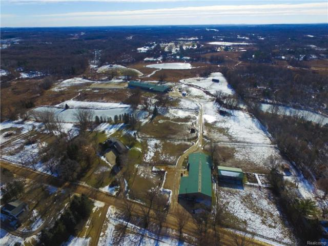 1301 W Rose Center Rd, Holly, MI 48442 (MLS #217111011) :: The John Wentworth Group