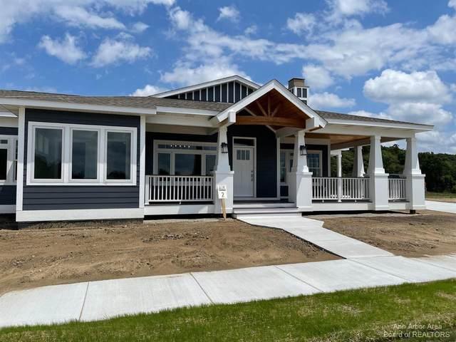 4101 Duck Dr #9, Ann Arbor, MI 48103 (MLS #3270103) :: The BRAND Real Estate