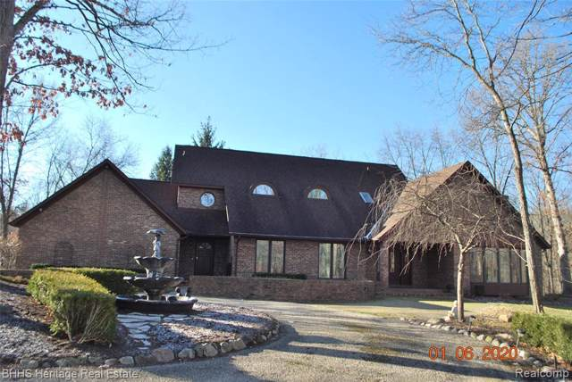 3393 Gentry Rd, Howell, MI 48843 (MLS #2200000895) :: The John Wentworth Group
