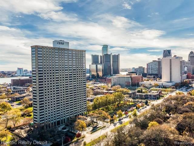 1300 E Lafayette Unit #2511-12, Detroit, MI 48207 (MLS #2200090884) :: The BRAND Real Estate