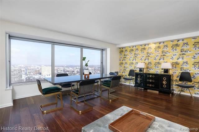 1300 E Lafayette #2609, Detroit, MI 48207 (MLS #2210009587) :: The BRAND Real Estate