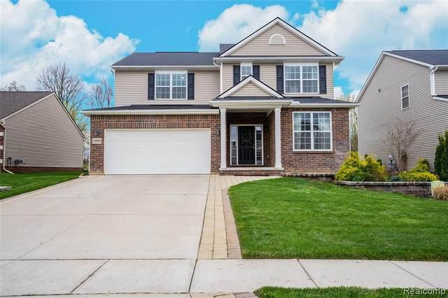 10908 Ridgestone Dr, South Lyon, MI 48178 (MLS #2210025464) :: The BRAND Real Estate