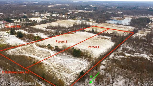 VL E Rattalee Lake Parcel 3 Rd, Holly, MI 48442 (MLS #2210028106) :: The BRAND Real Estate