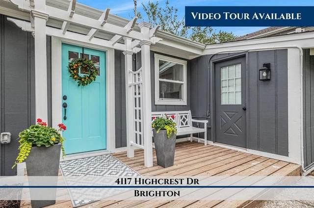 4117 Highcrest Dr, Brighton, MI 48116 (MLS #3281325) :: The BRAND Real Estate