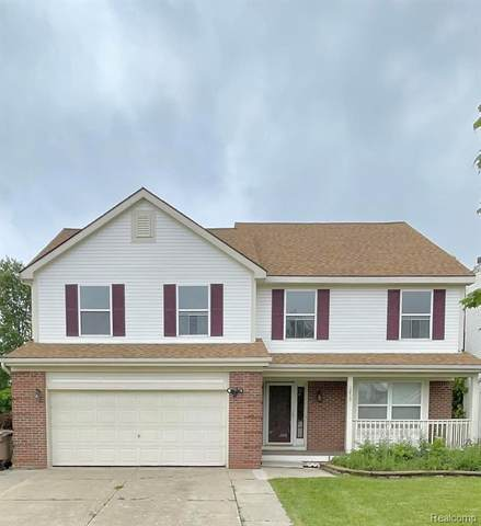 1215 Oaklawn Dr, Pontiac, MI 48341 (MLS #2210049031) :: Kelder Real Estate Group