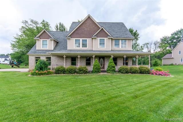 198 Amber Glen Dr, Howell, MI 48843 (MLS #2210051648) :: Kelder Real Estate Group