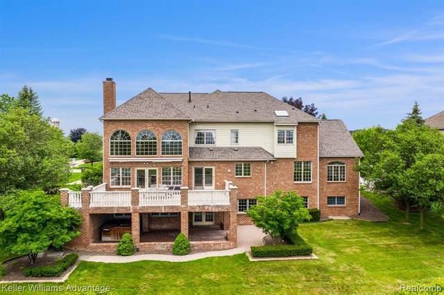 45835 Tournament Dr, Northville, MI 48168 (MLS #2210053092) :: Kelder Real Estate Group
