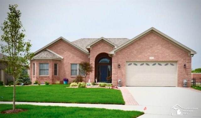 132 Callaway Dr, Monroe, MI 48162 (MLS #50031792) :: The BRAND Real Estate