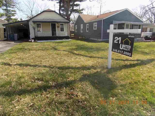 23384 Tawas Ave, Hazel Park, MI 48030 (MLS #50036437) :: Kelder Real Estate Group