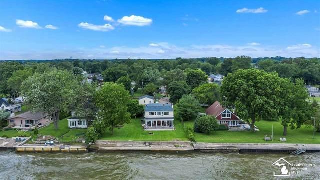 3440 Lakeshore Dr, Monroe, MI 48162 (MLS #50047026) :: Kelder Real Estate Group