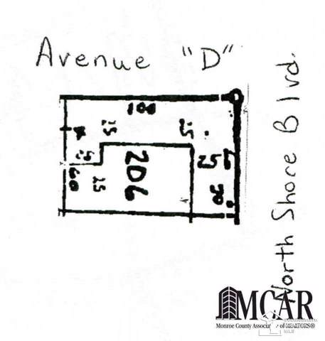 0 N Shores #206, La Salle, MI 48145 (MLS #21271030) :: The BRAND Real Estate