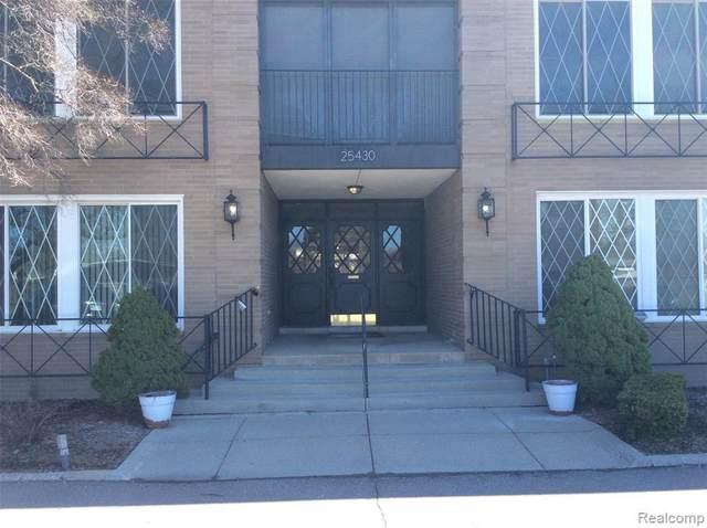 25430 Southfield Rd # A106 Rd, Southfield, MI 48075 (MLS #2210014460) :: The BRAND Real Estate
