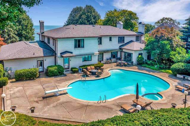 141 Lake Shore, Grosse Pointe Farms, MI 48236 (MLS #50043287) :: Kelder Real Estate Group