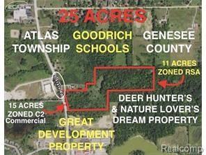 0 State Rd S, Goodrich, MI 48438 (MLS #217008093) :: The John Wentworth Group