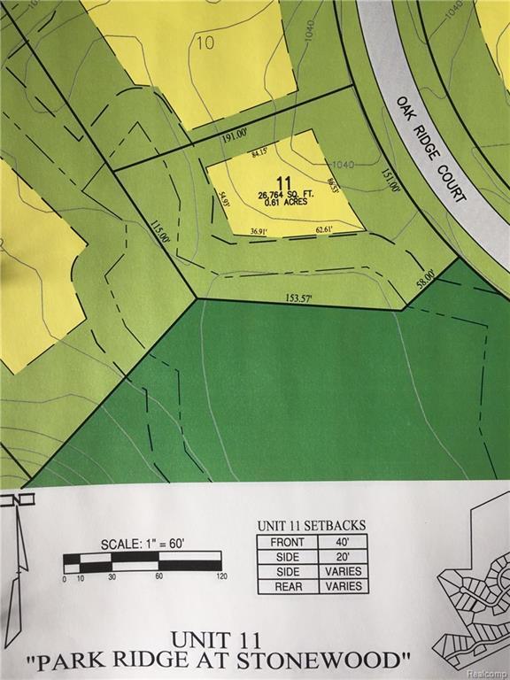 7107 Oak Ridge Crt, Clarkston, MI 48346 (MLS #218037342) :: The John Wentworth Group