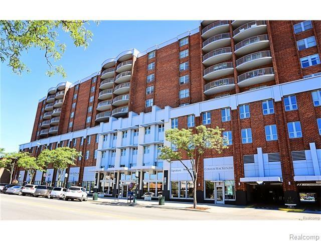 411 S Old Woodward Ave Unit#629, Birmingham, MI 48009 (MLS #219013151) :: The Tom Lipinski Team at Keller Williams Lakeside Market Center