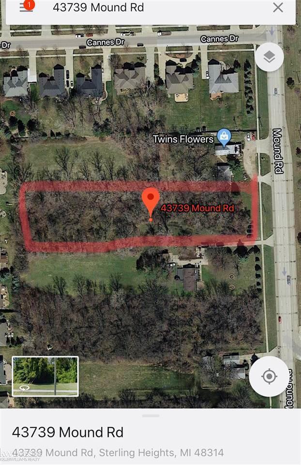 43739 Mound Rd, Sterling Heights, MI 48314 (MLS #31338221) :: The Tom Lipinski Team at Keller Williams Lakeside Market Center