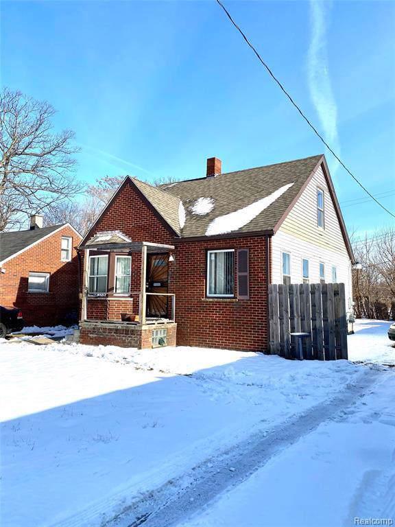 13926 Rockdale St, Detroit, MI 48223 (MLS #2200005402) :: The John Wentworth Group