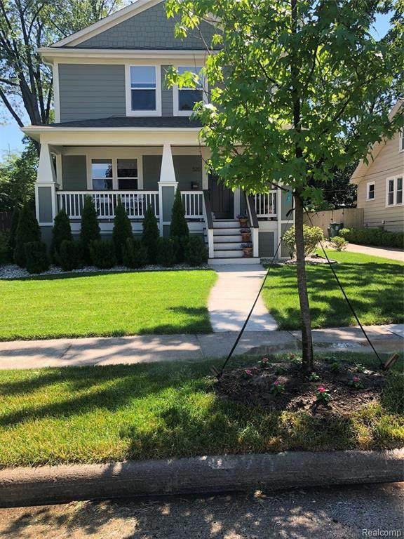 520 Hilldale Dr, Royal Oak, MI 48067 (MLS #2200061566) :: Scot Brothers Real Estate