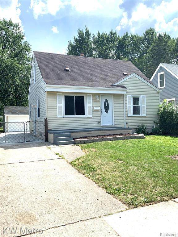1506 Whitcomb Ave, Royal Oak, MI 48073 (MLS #2200061959) :: Scot Brothers Real Estate