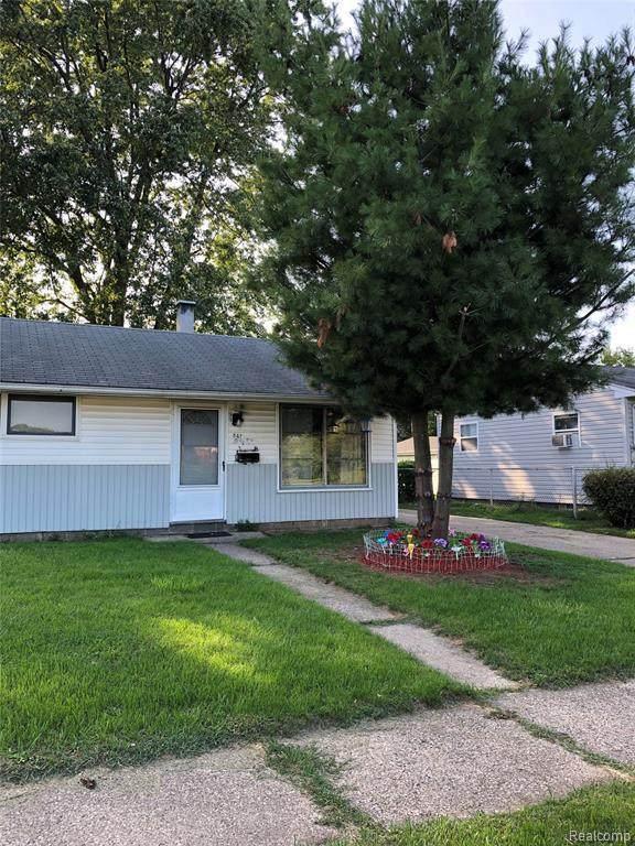 847 Kenilworth Ave, Pontiac, MI 48340 (MLS #2200075369) :: Scot Brothers Real Estate
