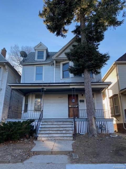 2429 Sheridan St, Detroit, MI 48214 (MLS #2210005084) :: The BRAND Real Estate