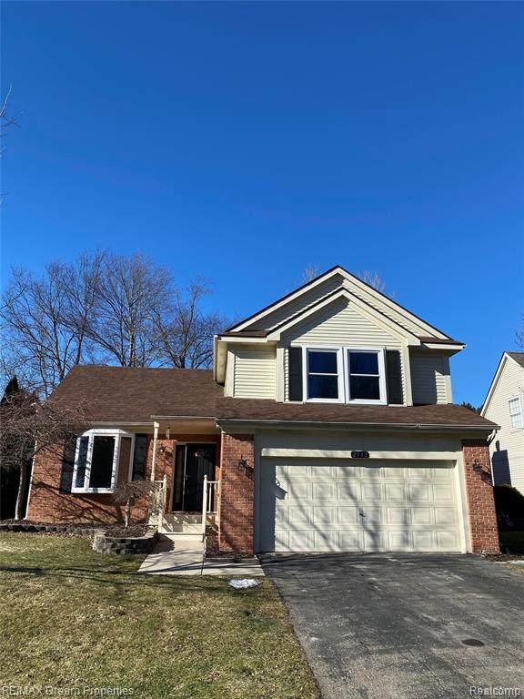 2563 N Ravineside Ln, Howell, MI 48843 (MLS #2210013817) :: The BRAND Real Estate