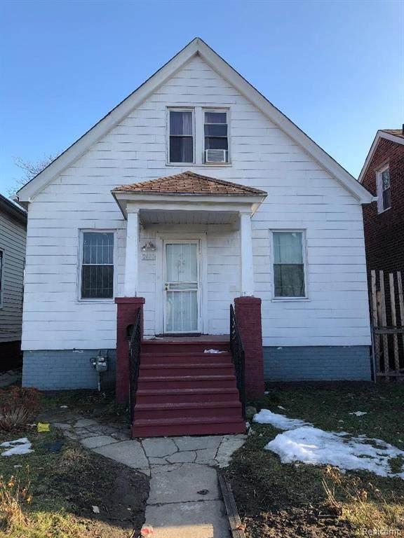 2400 Carpenter St, Hamtramck, MI 48212 (MLS #2210013989) :: The BRAND Real Estate