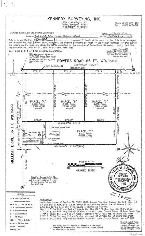 VL C Bowers Dr, Lapeer, MI 48446 (MLS #2210018153) :: The BRAND Real Estate
