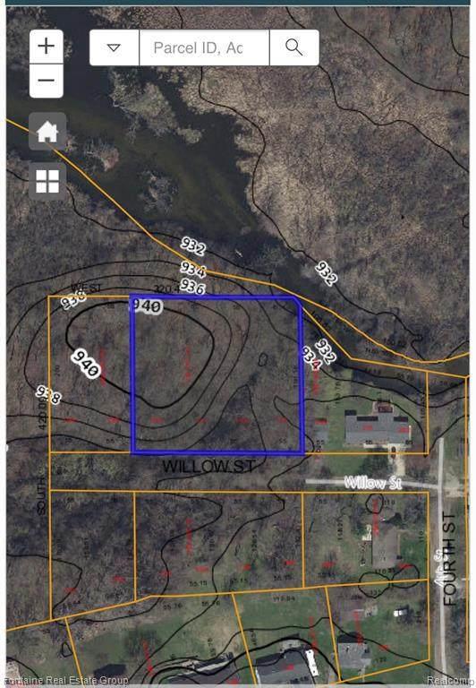 - Willow St, Michigan Center, MI 49254 (MLS #2210023476) :: The BRAND Real Estate