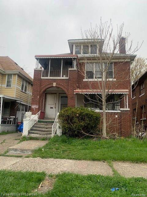3444 Wager St, Detroit, MI 48206 (MLS #2210027837) :: The BRAND Real Estate