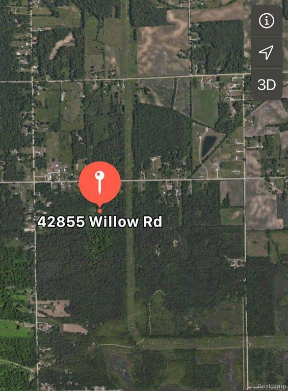42855 Willow Rd, New Boston, MI 48164 (MLS #2210031587) :: The BRAND Real Estate