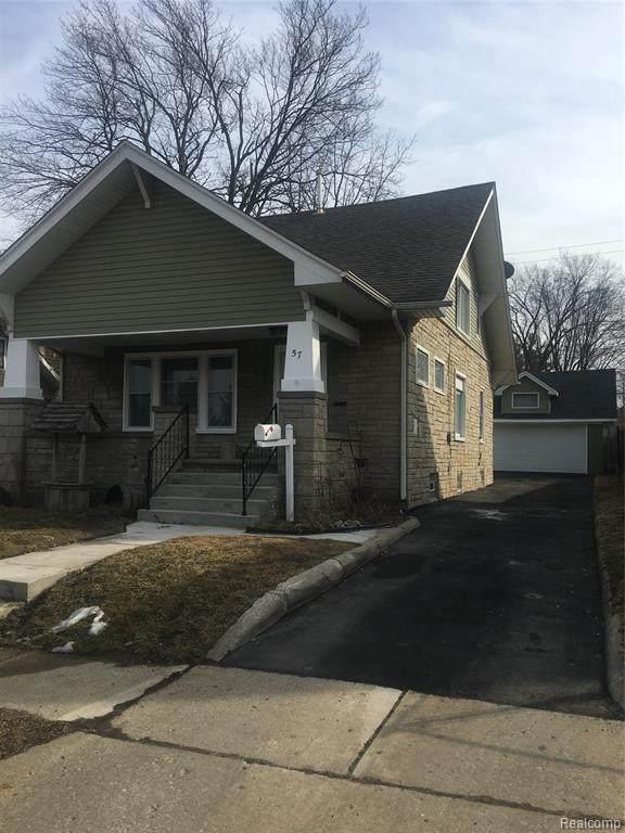 57 Elizabeth Lake Rd, Pontiac, MI 48341 (MLS #2210033823) :: The BRAND Real Estate