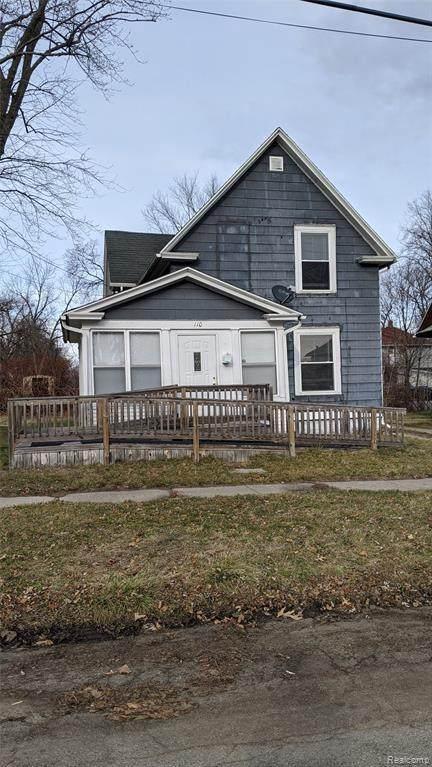 110 Ridgeway St, Jackson, MI 49203 (MLS #2210035212) :: The BRAND Real Estate