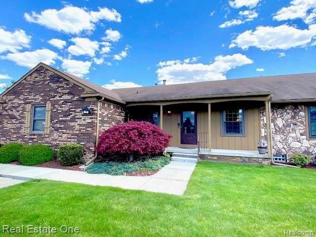 12134 Shenandoah Dr Unit#2-Bldg#141, South Lyon, MI 48178 (MLS #2210024903) :: The BRAND Real Estate