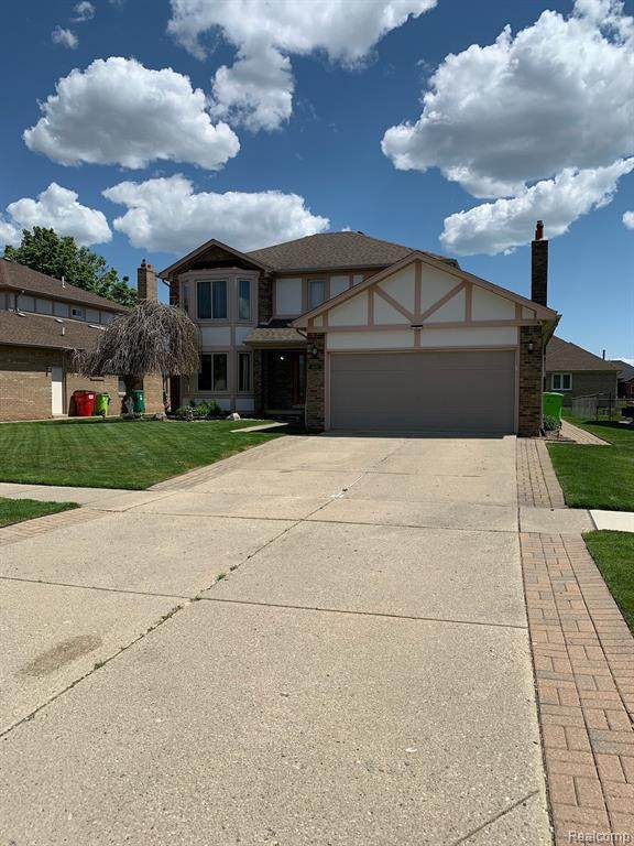 48606 Tilch Rd, Macomb Twp, MI 48044 (MLS #2210035479) :: The BRAND Real Estate