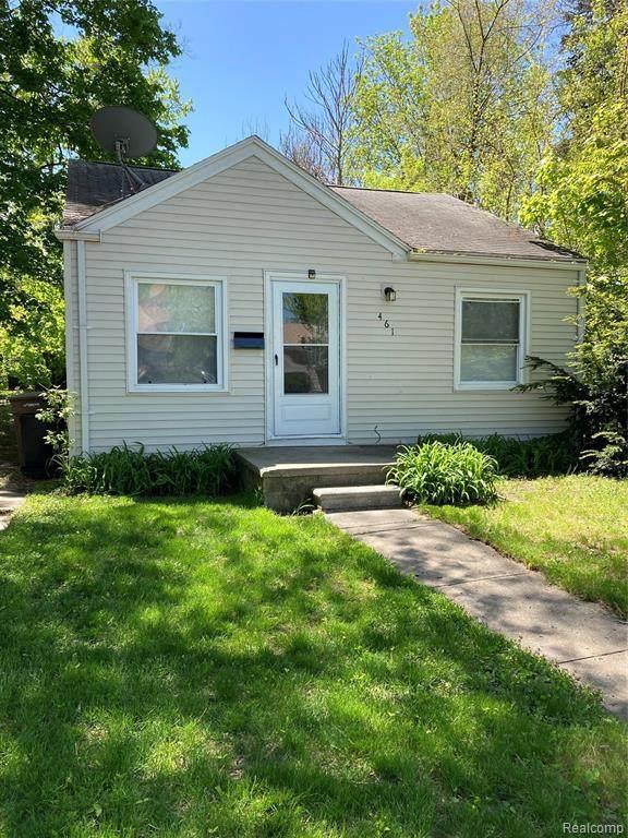 461 Nevada Ave, Pontiac, MI 48341 (MLS #2210035092) :: The BRAND Real Estate