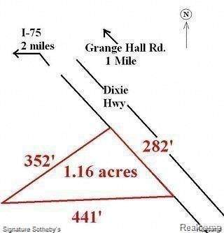 15312 Dixie Hiwy, Groveland, MI 48442 (MLS #2210036554) :: The BRAND Real Estate