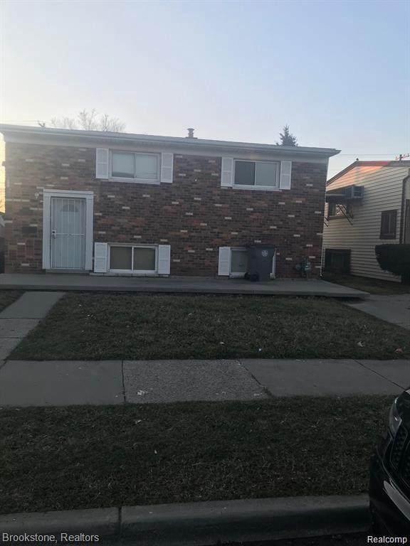 3986 17 ST, Ecorse, MI 48229 (MLS #2210050051) :: The BRAND Real Estate