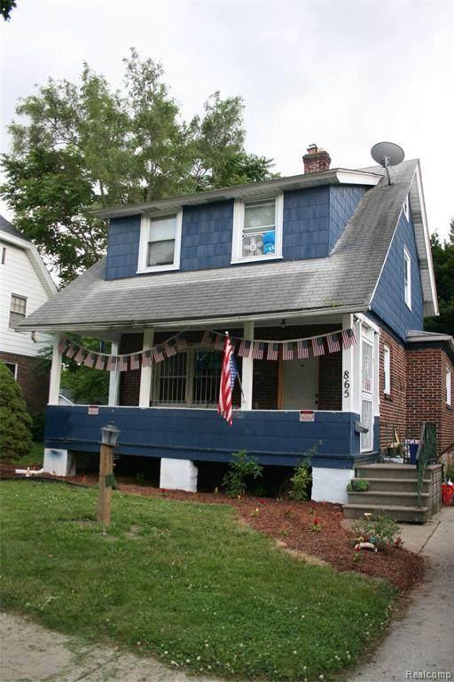 865 N Chevrolet Ave, Flint, MI 48504 (MLS #2210054758) :: Kelder Real Estate Group
