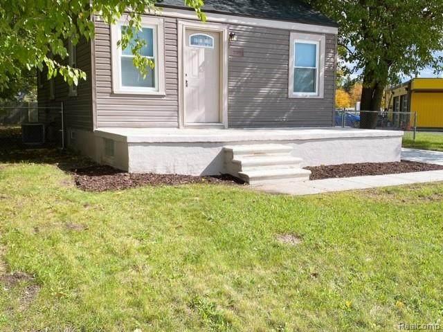 20752 Inkster Rd, Southfield, MI 48033 (MLS #2210058996) :: Kelder Real Estate Group