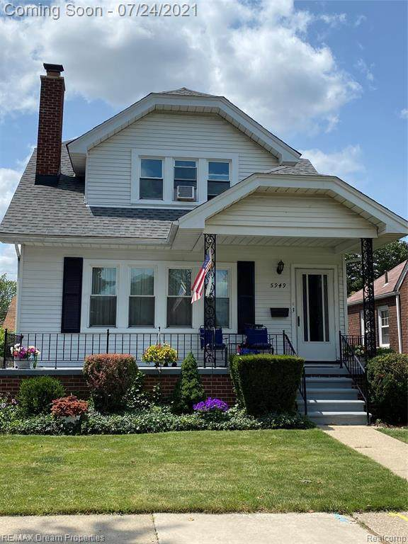 5949 Orchard Ave, Dearborn, MI 48126 (MLS #2210059311) :: The BRAND Real Estate